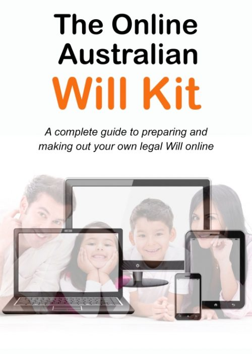 Online Australian Will Kit cover image